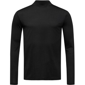 super.natural Base 175 Turtle Neck Men jet black
